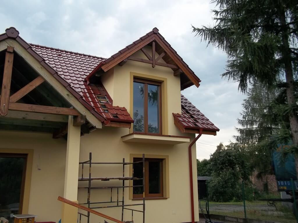 Wykonanie podbitki dachowej oraz opierzenia